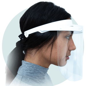 Reusable face Visor